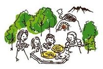 【フラワーガーデン】宿&石窯ピザの看板スタッフ写真