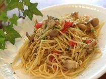 キノコのスパゲティー