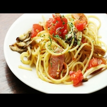 【季節のパスタ】旬の食材を使用したパスタの逸品