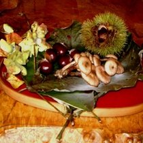 *秋の味覚を色々お楽しみいただけます。