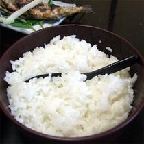 *自家栽培のお米