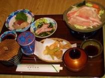 合宿の夕食例