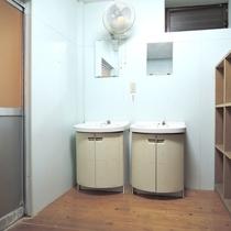 【温泉】大浴場の脱衣所