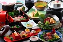 春の美味しさてんこ盛り!!【旬魚と牛筍青朴葉焼会席】