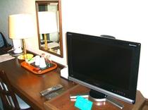 ツイン液晶テレビ(全室対応)
