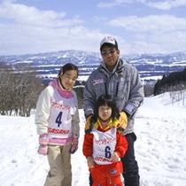 *初めてのスキーデビュー