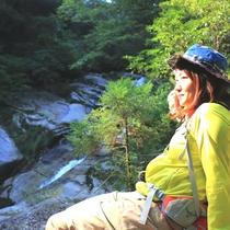 【白谷雲水峡】宮之浦岳をはじめ屋久島の奥岳が一望できます。