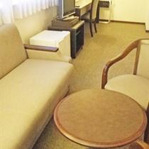 *デラックスツインルーム一例/やすらぎをテーマにした30㎡のお部屋。カップルにお勧め!