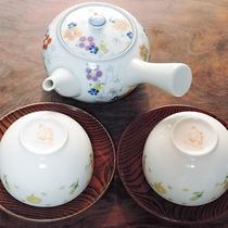*【客室設備・備品】お茶セット
