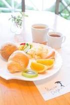 朝食(一例)画像です