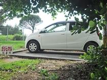 【駐車場】各コテージ1台駐車可能です