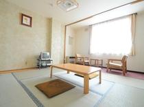 【和室の一例(8畳)】ご利用人数に応じてお部屋をご用意いたします。