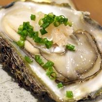 *【料理一例】冬の旬の味覚「牡蠣」。栄養満点のぷりぷりの身をご堪能あれ!