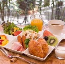 朝ごはんバイキング