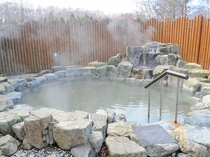 【温泉】趣が異なる2種類の露天風呂『山の湯』