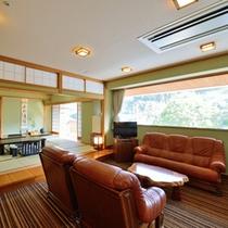 *特別室 17.5畳のリビングルーム