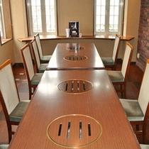 「綾ぐるめ」個室テーブル席