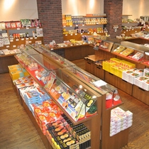食品コーナー 風景