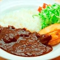 【夕食】ルートインオリジナル『上田カリー』