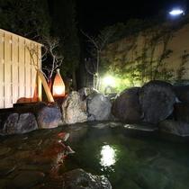 館内温泉・夜
