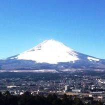 ホテル近くからの富士山