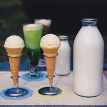 ミルク&アイス