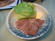 ごちそうプラン(夕食)飛騨牛一例