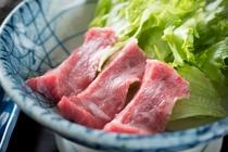 夕食ごちそうプランの飛騨牛のイメージ
