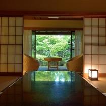 *客室一例『加茂』/お食事はお客様のペースに合わせてお部屋までお運び致します。