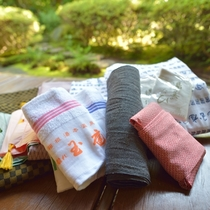 *アメニティ一例/玉庭オリジナルの浴衣に身を包み、園内を散策しませんか?