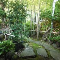 *庭園/美しい竹林の庭にあるわずか8室の離れのお部屋でくつろぎの休日を。
