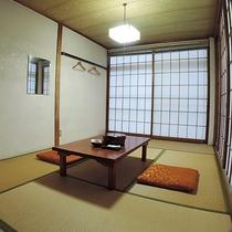 *【和室6帖(一例)】シンプルな造りですが、使い勝手は抜群です、