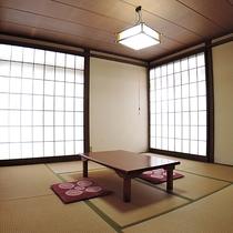 *【和室8帖(一例)】ゆったりとしたお部屋でおくつろぎください。