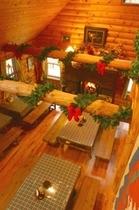 クリスマス暖炉①