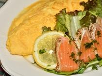 平日限定プチ贅沢な朝食プランの一例