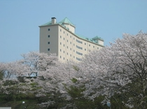 かんぽの宿伊野(春)