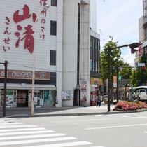 JR松本駅前