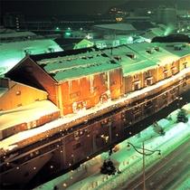 *冬の小樽運河