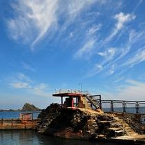 *おたる水族館施設内にある日本海に面した『海獣公園』。