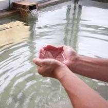 *【温泉/大浴場(男性用)】独特の肌触りの温泉に浸かって、心身ともにリフレッシュ!