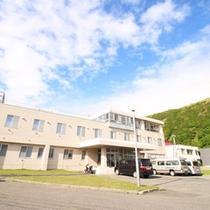 *【外観】日本最北「稚内」に佇む温泉宿で、日頃の疲れを癒して下さい。