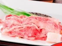 【2015冬】料理長おすすめコースの一品「米沢牛すき焼き」
