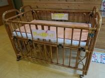 大浴場(脱衣場幼児用ベッド)