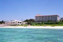 全景 海からホテル