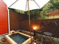 メゾネト室露天風呂