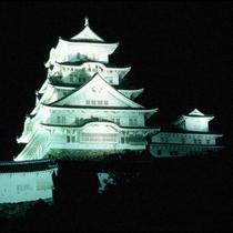 ◆姫路城ライトアップ◆4/1〜10/31までは白色系、11/1〜3/31までは暖色系に光ります☆