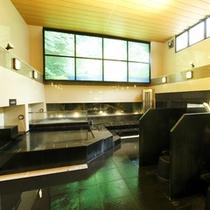 北海道・二股温泉の炭酸カルシウム泉