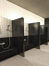大浴場(洗い場)■営業時間17:00~25:00 / 5:00~9:00(朝風呂)