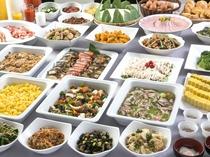 【朝食バイキング】メニュー豊富!ドリンク・デザートまで約25種類。