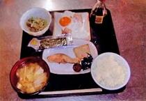 朝食(和定食)